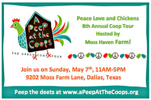 2017 A Peep At The Coops Tour @ Moss Haven Farm | Dallas | Texas | United States