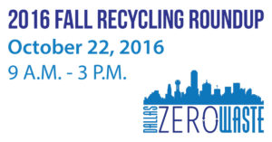 2016 Fall Recycling Roundup