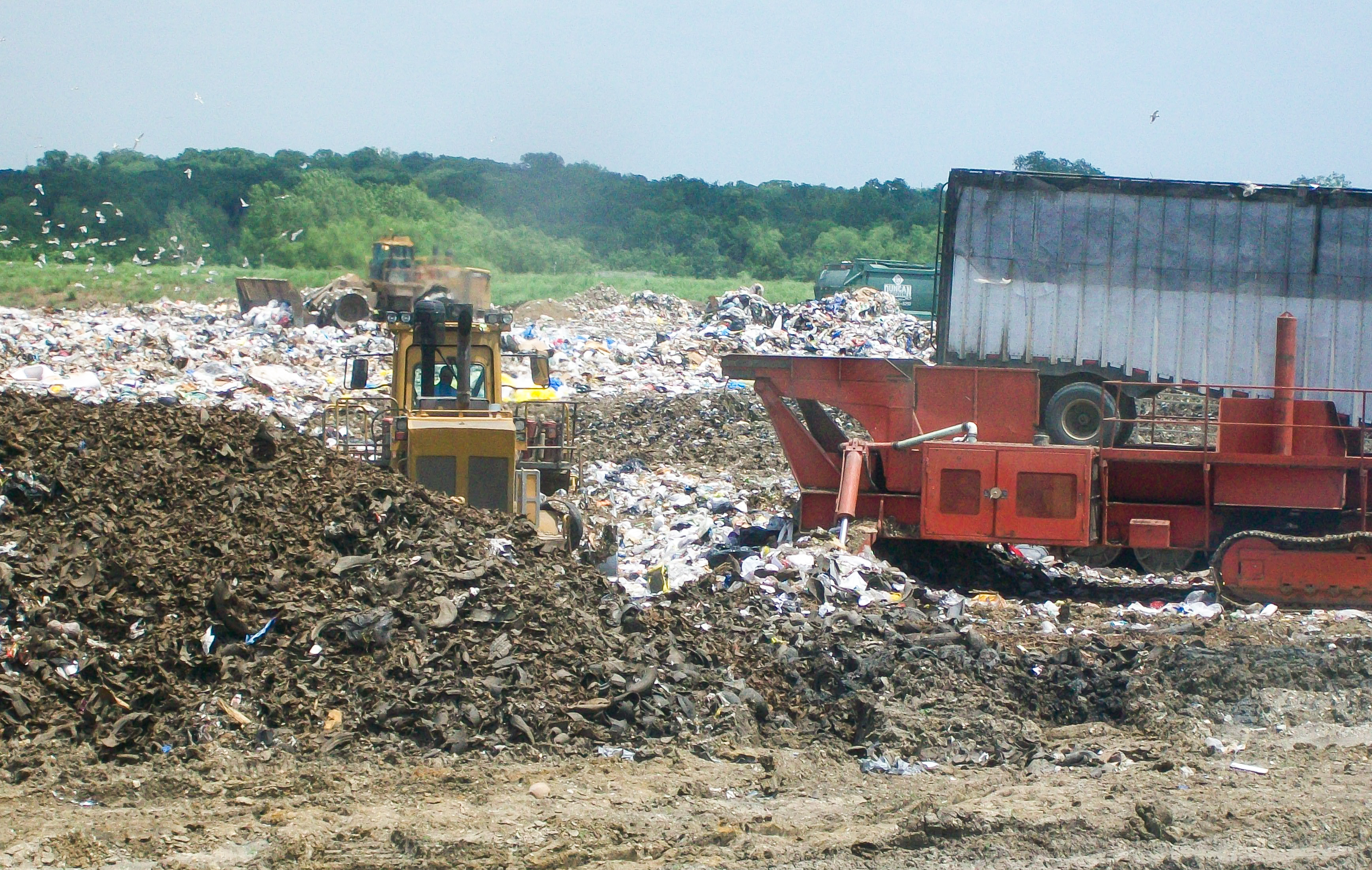 City of Dallas McCommas Bluff Landfill, Go Zero waste this winter, reduce waste