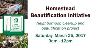 Homestead Beautification Initiative from the GrowSouth Vista Team @ Greater Mt. Hebron Baptist Church | Dallas | Texas | United States