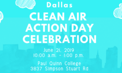 Dallas Clean Air Action Day June 21, 2019