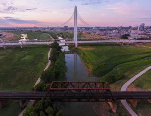 trinity river, train, bridge, trestle