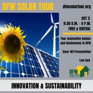 DFW solar tour blog photo