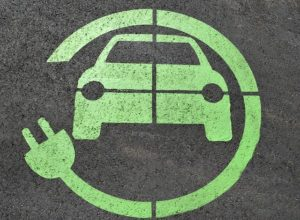 blog post photo of electric charging symbol